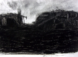 29-Paper on Charcoal Pen%2c 2009
