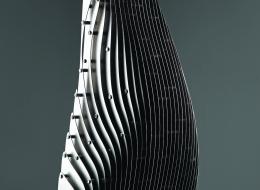 bilge - wise - 113x55x27cm - krom chrome - 2012 b