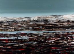 30-Mixed Media on Canvas, 2008, 150x120 cm.