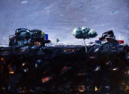 35-Mixed Media on Canvas, 2007, 150x200 cm..