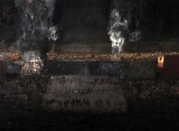 17-Mixed Media on Canvas, 2010, 190x100 cm.