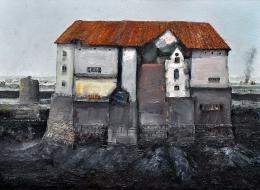7-Oil on Canvas, 50x35 cm. 2011.