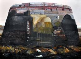 9-Oil on Canvas, 70x100 cm. 2011.