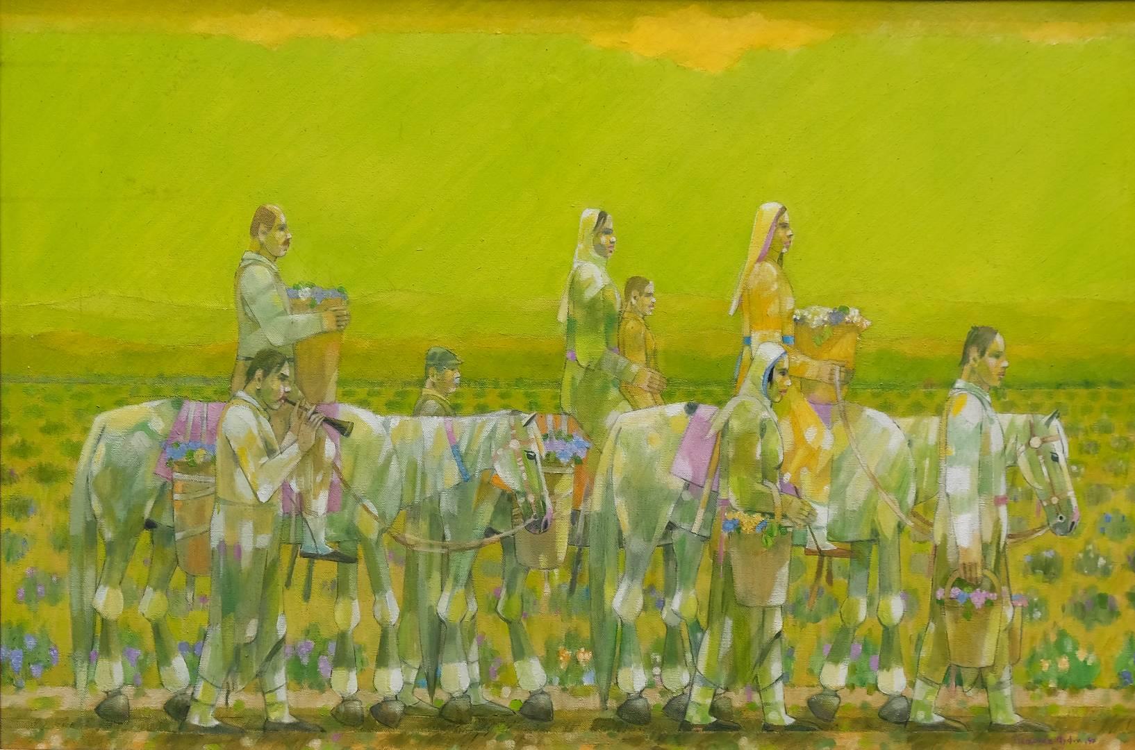 60x90 cm, Tuval üzerine yağlı boya, 1997