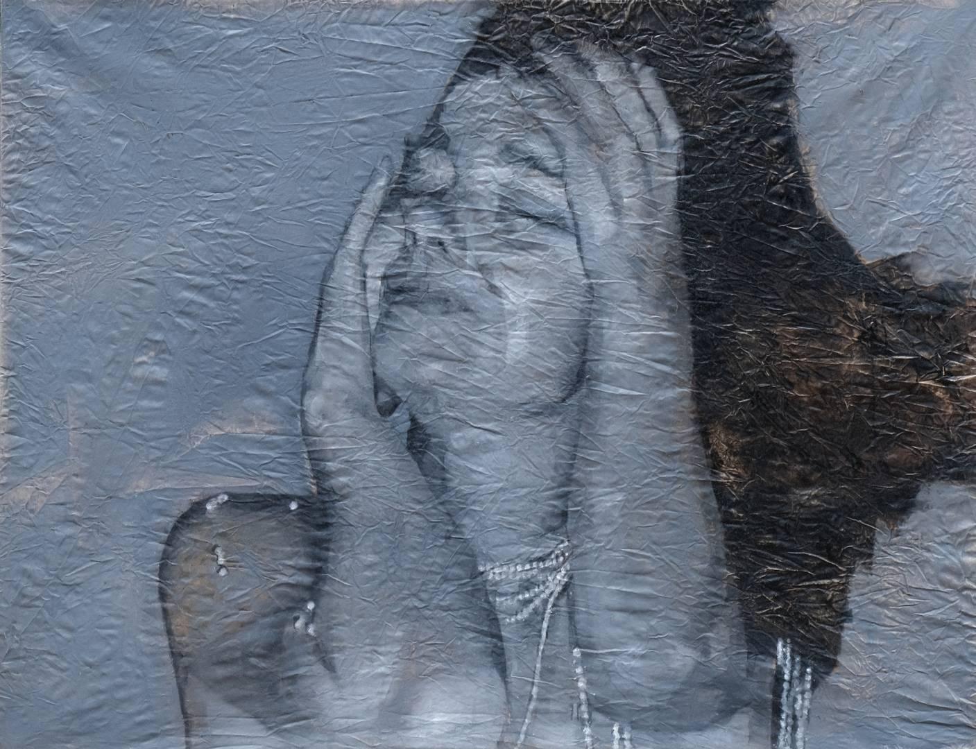 'Björk',120x156 cm., Tuval üzerine yağlıboya, 2008 1