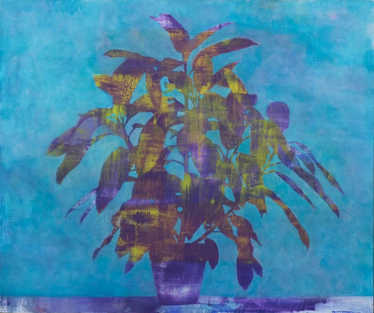 Ezgi Yüksel, 100x120 cm, Tuval üzerine akrilik