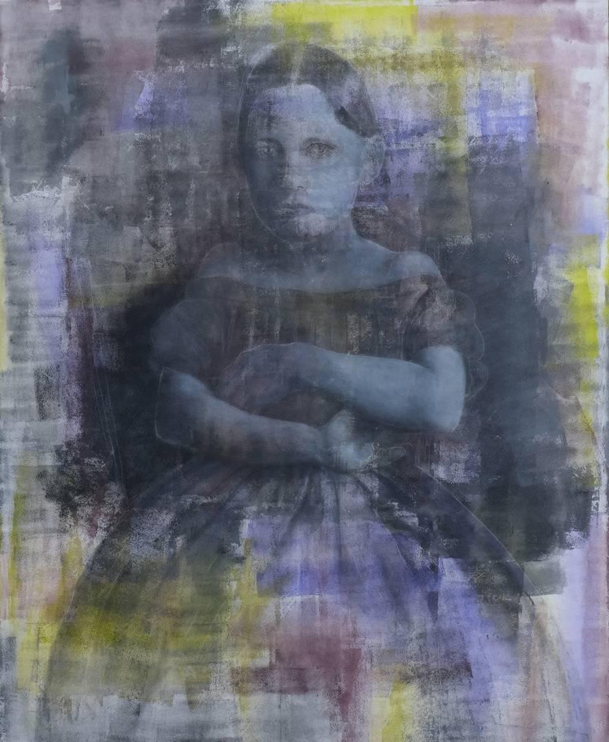 Ezgi Yüksel, 135x112 cm, Tuval üzerine akrilik, 2013