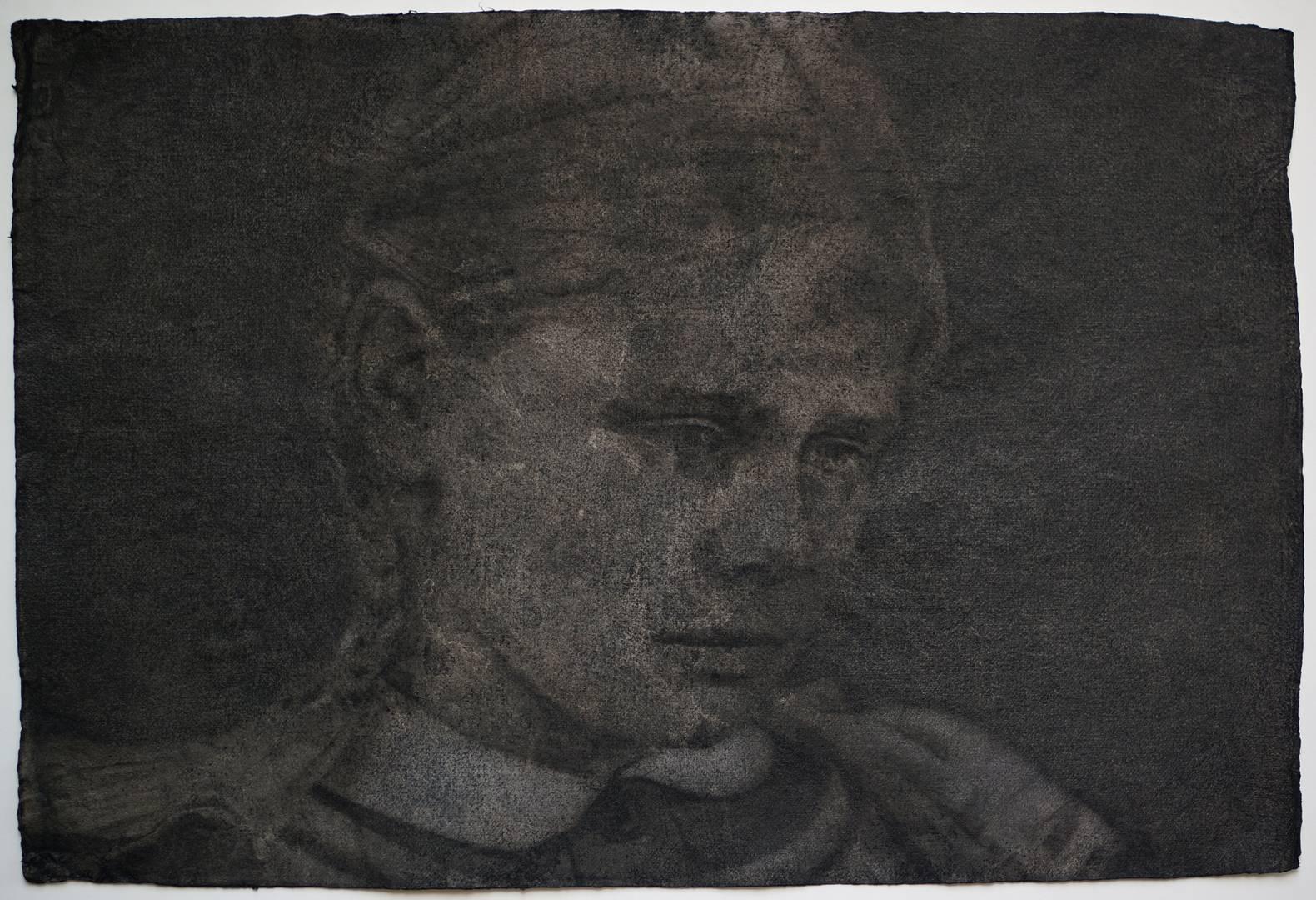 'Fanny', 70x100 cm., Kağıt üzerine yağlıboya, 2013