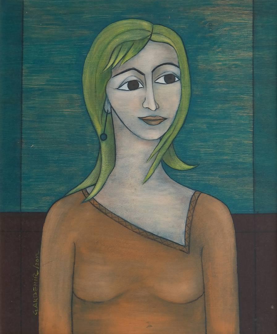 Güzin Akdemir, 38x58 cm, 2002