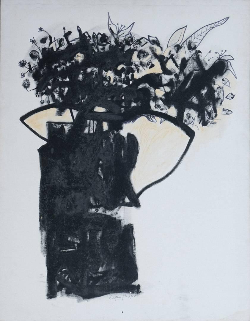 İbrahim Çiftçioğlu, 146x114 cm, Tuval üzerine yağlı boya (1)