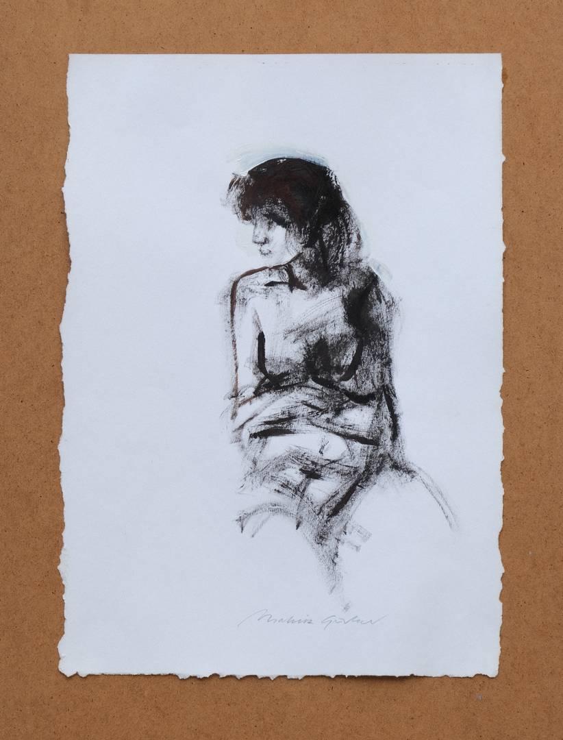 Mahir Güven, 50x35 cm, Kağıt üzerine yağlı boya