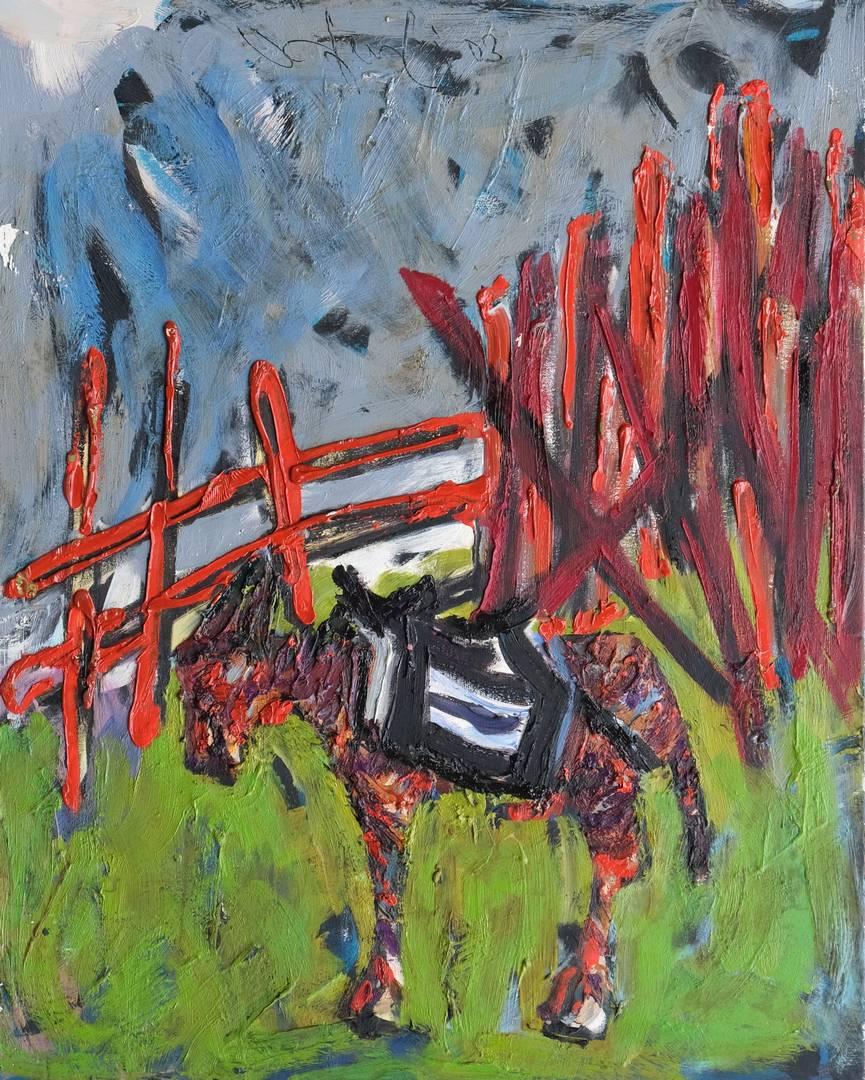 Orhan Benli, 100x80 cm, Tuval üzerine yağlı boya, 2003
