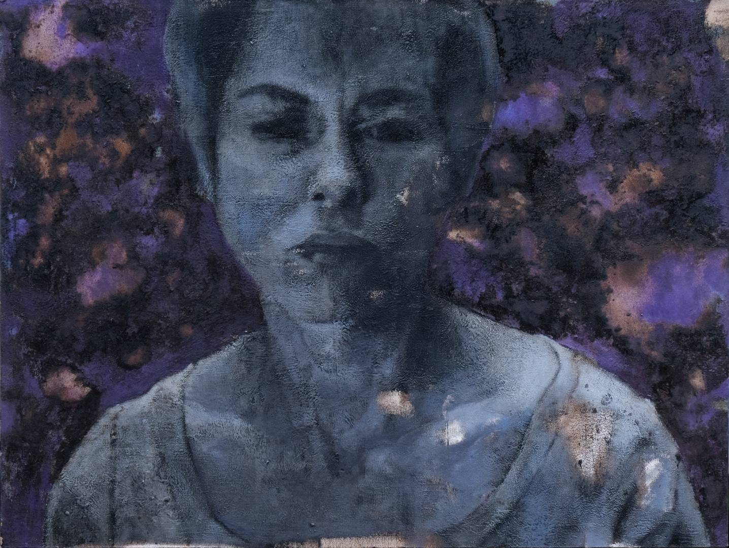 Persona, 80x106 cm, Tuval üzerine yağlı boya, 2006,