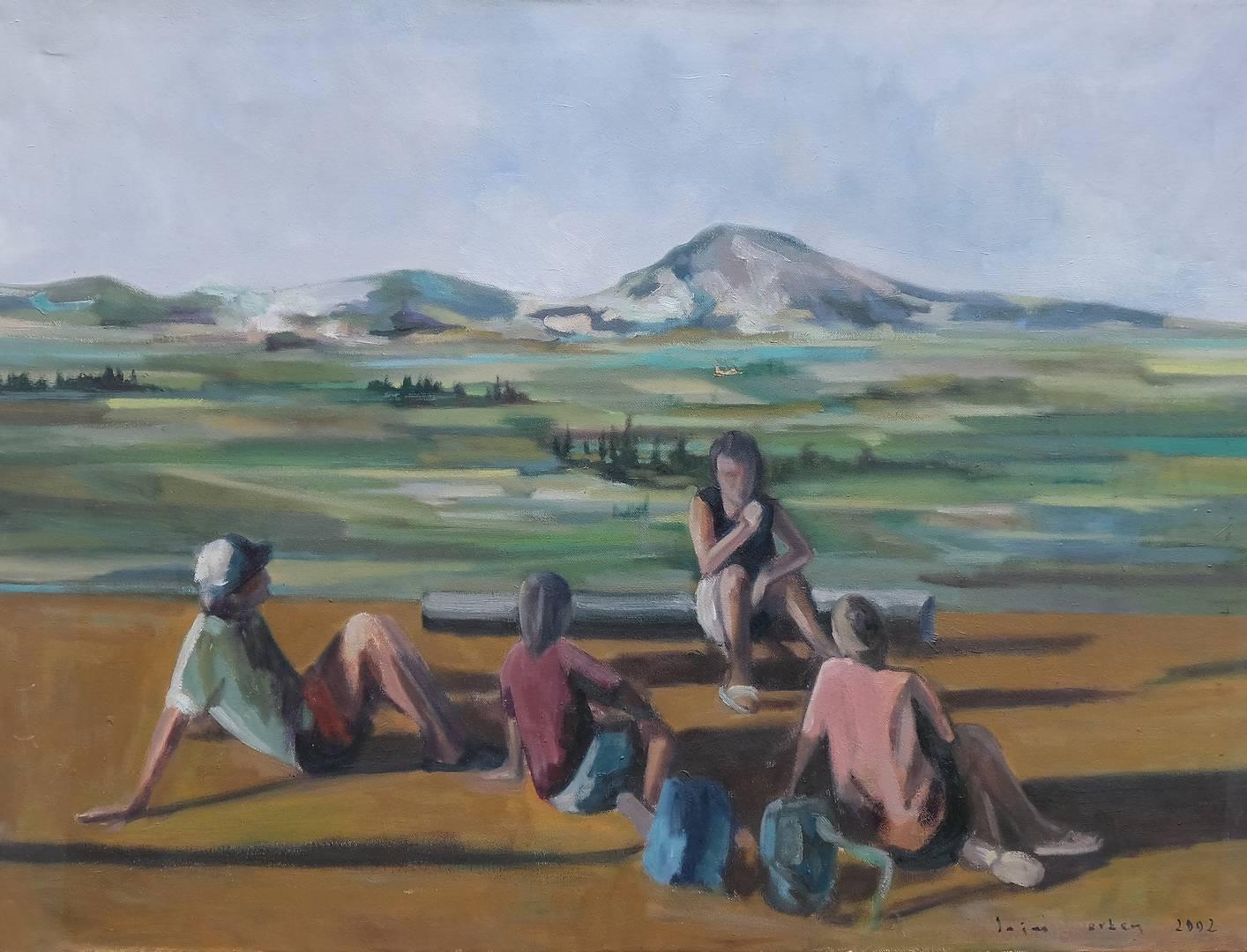 Saim Erken, 60x80 cm, Tuval üzerine yağlı boya, 2002