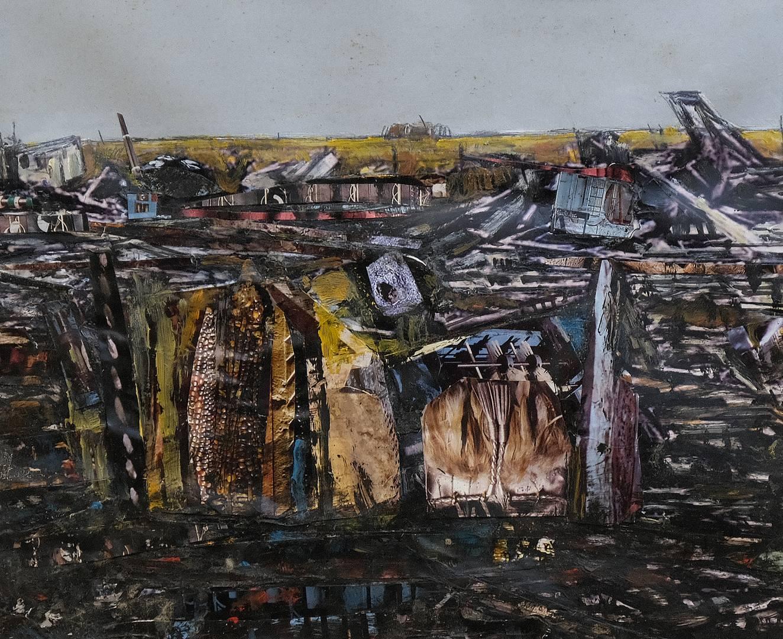Sait Toprak, 20x25 cm, Kağıt üzerine karışık teknik, 2009