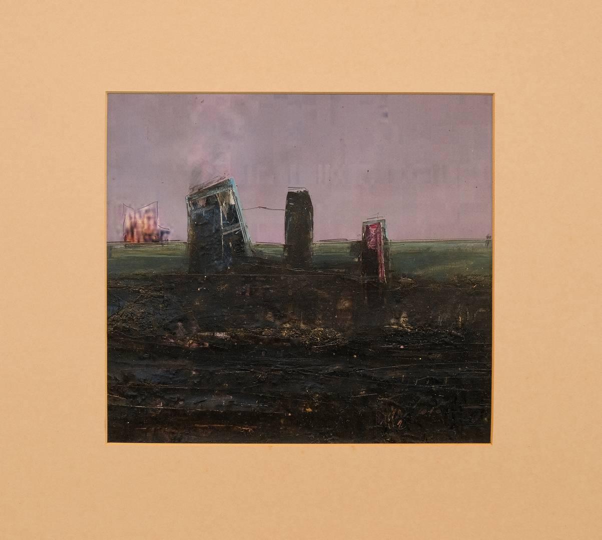 Sait Toprak, 24x26 cm, Xwezajahr, Kağıt üzerine karışık teknik, 2009