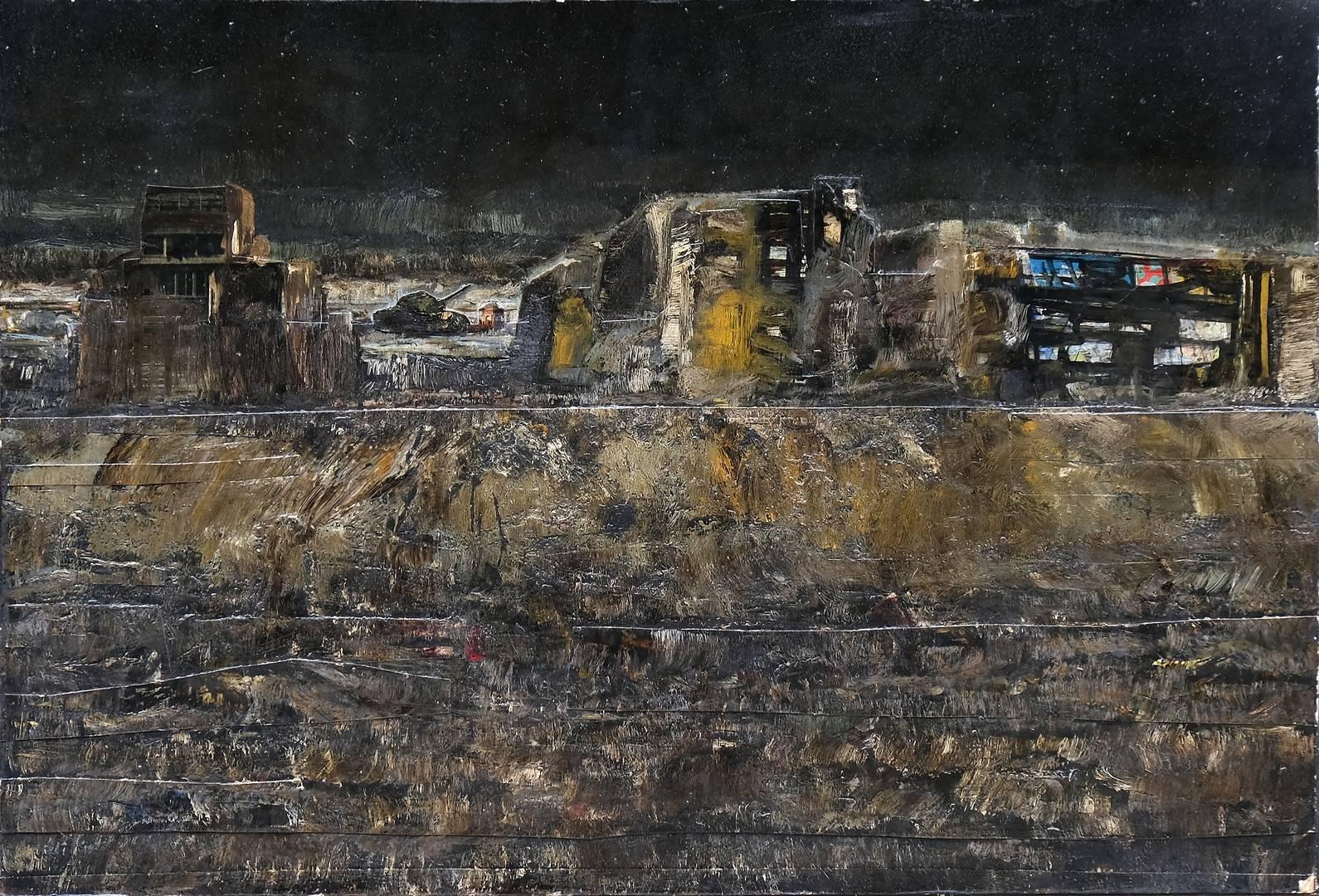 Sait Toprak, 41x61 cm, Tuval üzerine yağlı boya, 2010