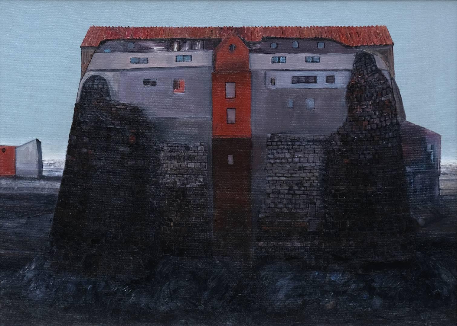 Sait Toprak, 50x70 cm, Tuval üzerine yağlı boya, 2011