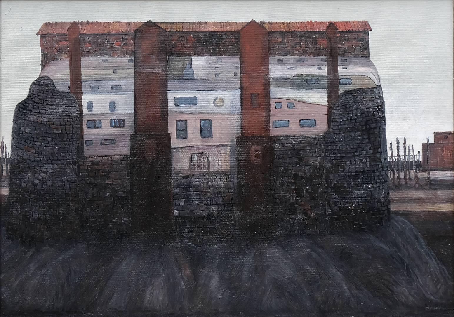 Sait Toprak, 50x70 cm, Tuval üzerine yağlı boya