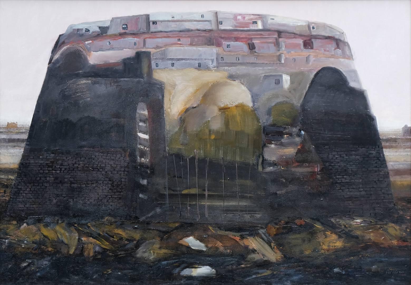 Sait Toprak 70x100 cm, Tuval üzerine yağlı boya