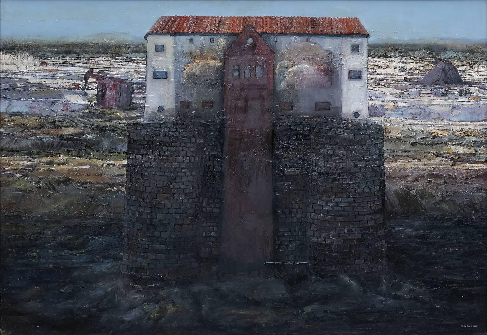 Sait Toprak, 70x100 cm, Tuval üzerine yağlı boya