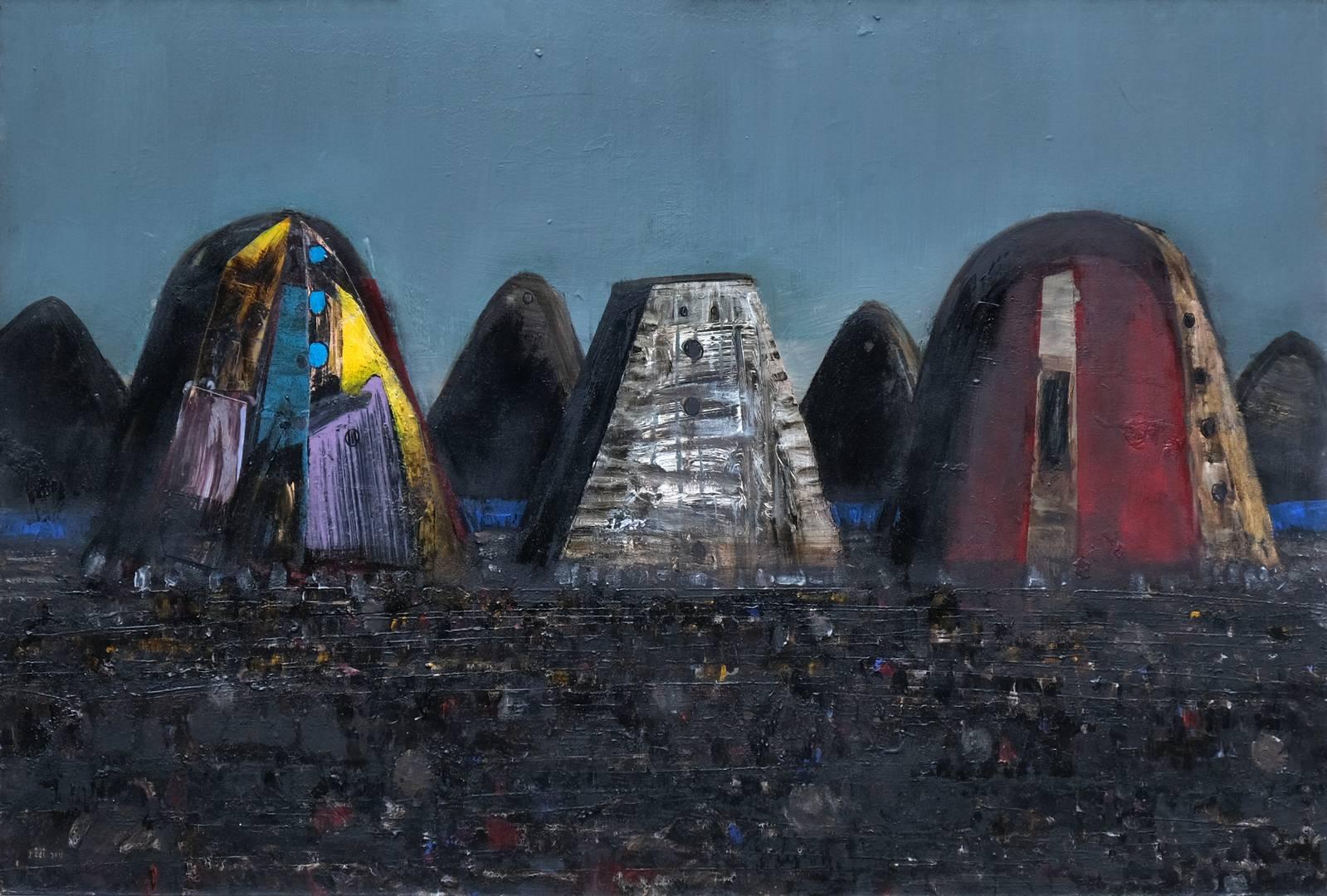 Sait Toprak, 80x120, Tuval üzerine yağlı boya, 2010