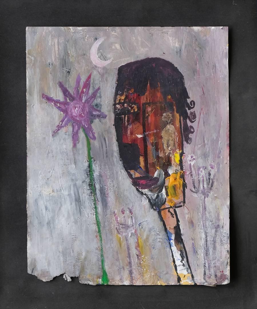 Tuncay Takmaz 29x22.5 cm, Kağıt üzerine karışık teknik, 2004