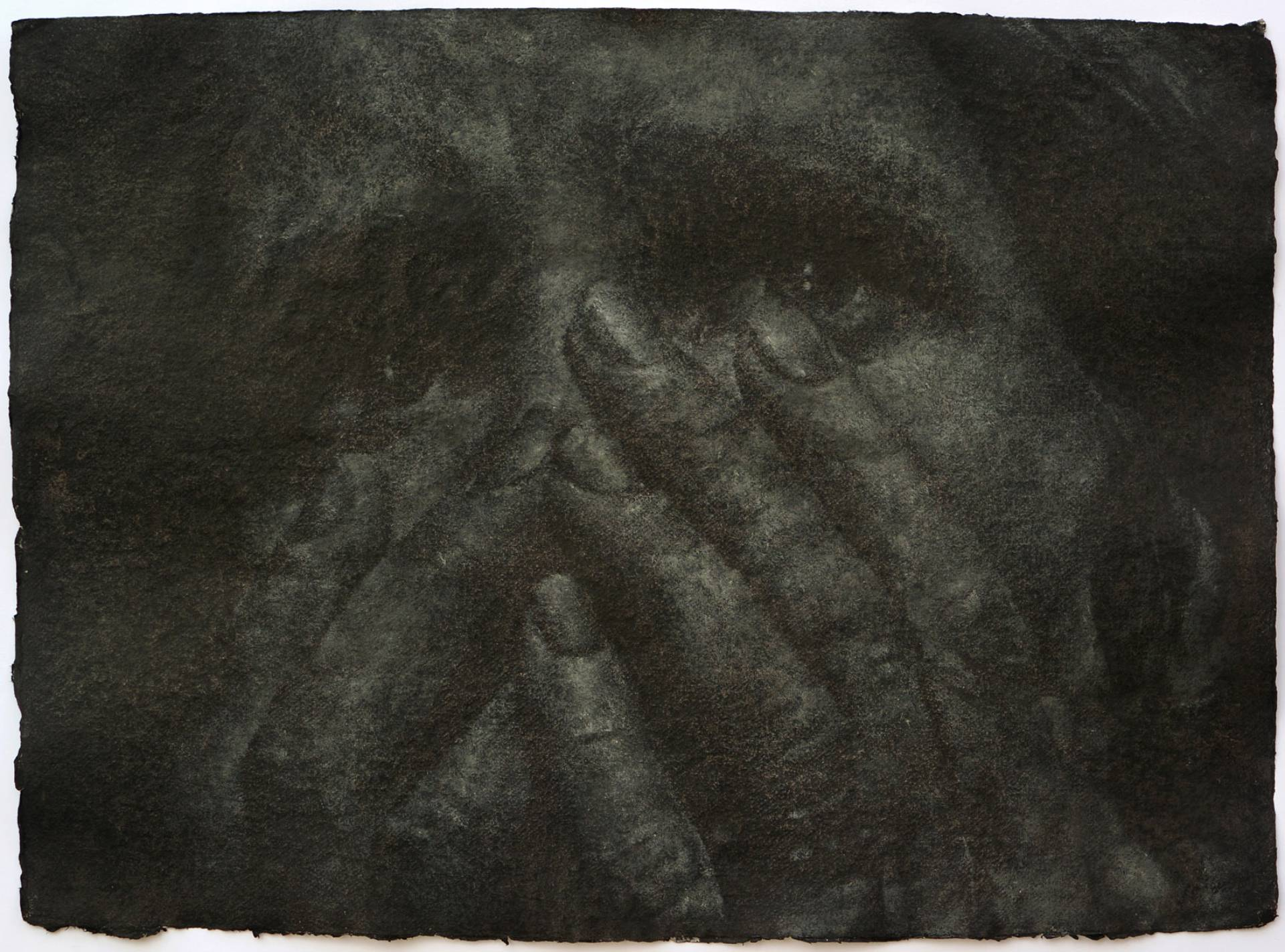 Vargtimmen no.6, 56x76 cm, El yapımı kağıt üzerine yağlıboya, 2015