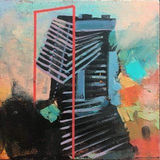 Mehmet Babat durakit üstü akrilik#art #abstractartist #artgalleries #architect #artfairs
